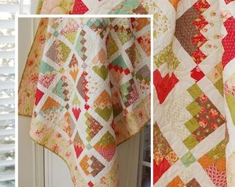 "THE PATTERN BASKET (Quilt Pattern): ""Marmalade"" - Design by Margot Languedoc"