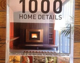 1000 Home Details Book Francesc Zamora Mola