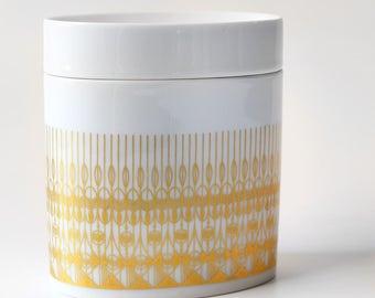 Vintage Rosenthal Ceramic Box Hans Theo Baumann Golden Door Studio Line