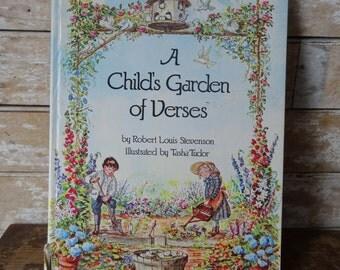 A Child's Garden of Verses by Robert Louis Stevenson, Tasha Tudor Illus.