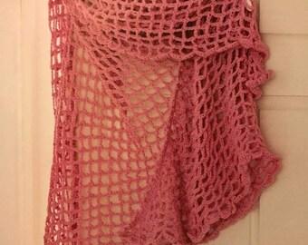 Lacy crochet shawl bespoke