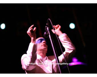"Michael Stipe of R.E.M. Concert Photo - 4"" x 6"""