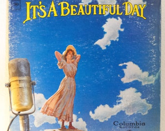 """ON SALE It's A Beautiful Day 1960s San Francisco Psychedelic Rock ,""""It's A Beautiful Day"""" (Original 1969 Columbia w/ """"White Bird"""") - Vintage"""