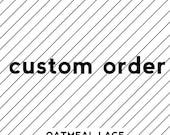 custom SHORT aprons