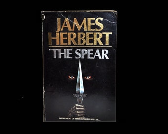 Vintage Paperback ~ The Spear by James Herbert ~ Horror Book ~ 1980s.