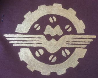 Steampunk Sew-On Patches