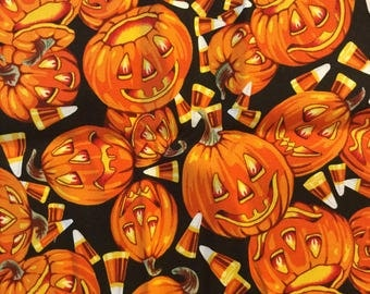 Quilter Quality Fabric Alexander Henry Jack O Lantern 2000 Collection - Out Of Print  FAT QUARTERS