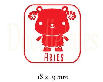 Horoscope Aries 2 (Rubber Stamp)