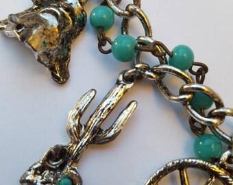Arizona vintage collectible souvenir charm bracelet