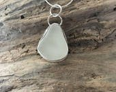 Sea Glass Jewelry - Sterling Jewelry - Bezel Sea Glass Jewelry - Lake Erie Beach Glass - FREE Shipping inside the US