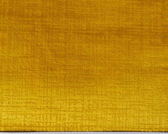 Mustard Velvet Throw Etsy