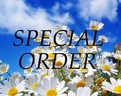 Special Order - 2 Wood Block Calendars