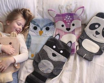 Wild Things Hot Water Bottle Covers - PDF Pattern