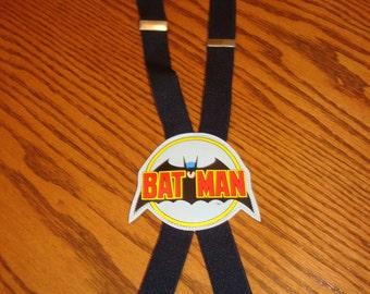 Vintage Batman Suspenders