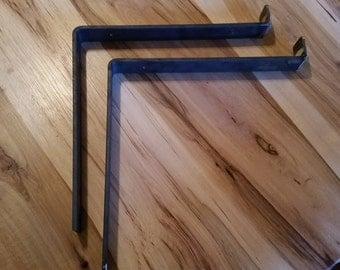 Metal Shelf Brackets with Lip Steel Shelf Metal Shelving Bracket