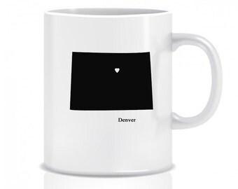 Colorado Hometown, Coffee Mug, Custom, Custom Mug, Coffee Cup, Custom Coffee Cup