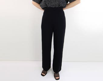 VINTAGE St John Knit Pants Navy