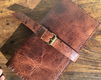 Large leather wallet, Womens leather travel wallet, Travel document organizer, Passport case, Leather document holder, Custom made wallets