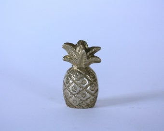 Vintage Brass Pineapple Paperweight