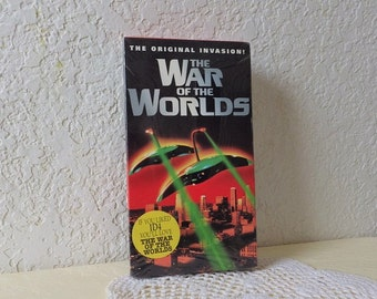 The War of the Worlds, 1953 version on VHS tape. Starring Gene Barry. Sealed.