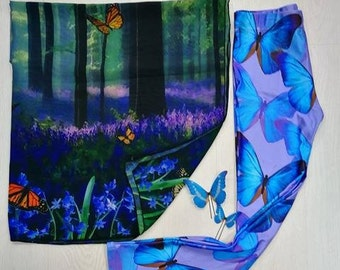 Gift pack holidays summer festival present for her fantasy woman butterflies