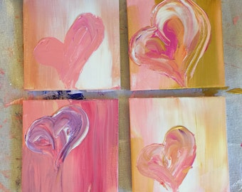 "4""x4"" Acrylic Painting 