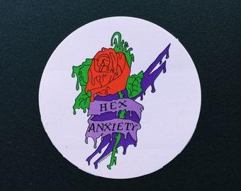 Hex Anxiety - sticker