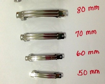 25 pcs. French Clips in Seven (7) different sizes