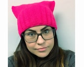 Pink Pussy Hat Women's March Protest