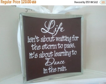 Items Similar To Life Isn T About Waiting For The Storm To Pass Vinyl Wall Decal On Etsy