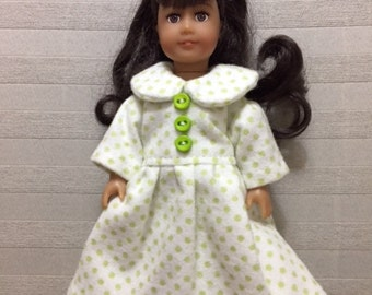 Mini AG doll polka dot nightgown