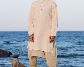 Organic Cotton Long Kurta ~