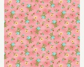 ON SALE - Rose Buds in Petal Pink  10143-01 - FOREVER Love by Eleanor Burns - Benartex Fabrics - By the Yard