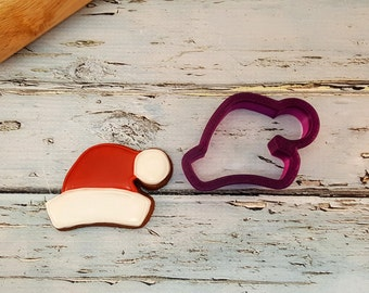 Santa Hat Cookie Cutter and Fondant Cutter and Clay Cutter