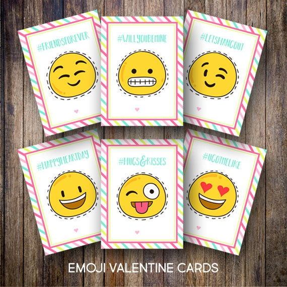 This is a picture of Crafty Printable Valentine Cards for Classmates