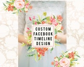 Facebook Page Design Facebook Timeline Cover and Facebook Badge Custom Facebook Set Facebook Branding Photography Branding Graphic Design