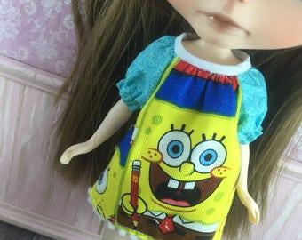 Blythe Smock Dress - Spongebob