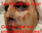 READY TO SHIP - Brian - Skinned Horror Face Mask