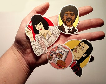 Stickers // Pulp Fiction