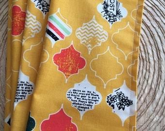 Everyday Cloth Napkins - Modern Tile