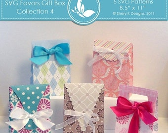 40% off SVG Favors Gift Box Collection 4