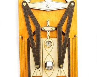Steampunk Light Rig Switch Plate #8004F