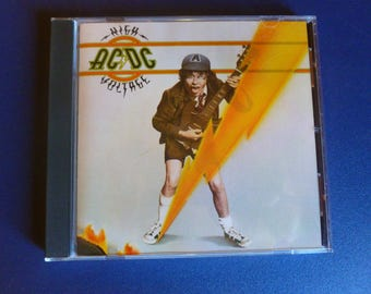 AC/DC High Voltage CD 1976