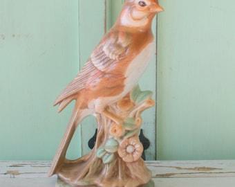 Vintage BIRD Figurine Home Decor....kitsch. retro. bird. love. home. decor. collection. retro housewares. figurine. bird lover. 1970s home