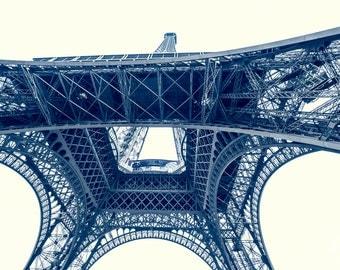 Under the Eiffel Tower Paris - 8x10 Fine Art Print Paris Decor photo print france french photography