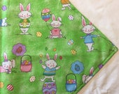 Easter Table Runner, Reversible Table Runner, Patriotic Table Runner, Bunny Table Runner, Navy Table Runner