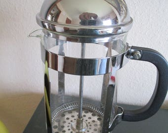 Vintage French Press Coffee Maker