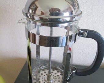 Vintage French Press Coffee Maker