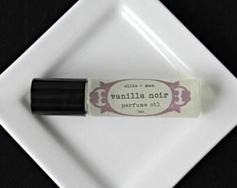 Vanilla Noir Vegan Natural Perfume Oil