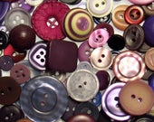 The Purple Button Assortment: A Variety Mix of 125 Vintage to Contemporary Buttons